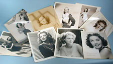 1940s-1950s 20 Original Movie Star Actress Choice Photo Portraits Linda Darnell