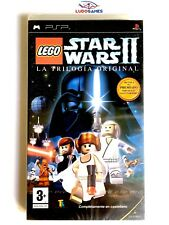 Lego Star Wars II PSP Playstation Nuevo Precintado Retro Sealed New PAL/SPA