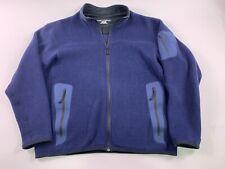 Arc'teryx ARCTERYX Men Covert Cardigan Full Zip Logo Fleece Blue  X Large XL