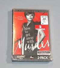 How to Get Away with Murder: Seasons 1 and 2 (DVD, 2017) NEW Sealed