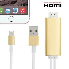 2M LIGHTNING TO HDMI CABLE FOR iPHONE AND ANDROID 2 IN 1 (A5-08)
