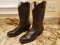 NEW!  Durango Women's Western Cowboy Boots Distressed Leather 9M Ladies RD3223