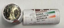 Originalrolle 25 x 2 Euro Gedenkmünze Italien 2021 150 Jahre Rom Haupstadt