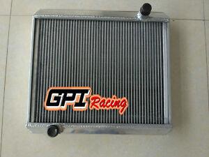 ALUMINUM  RADIATOR FOR MG MGC GT 2.9L 1967 1968 1969