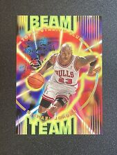 1995-96 Topps Stadium Club Michael Jordan Beam Team #B14 Bulls GOAT