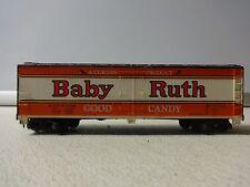 Vintage TYCO N.A.D.X. 5342 Baby Ruth BOX CAR - HO SCALE BA