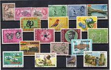 Ghana Valores diversos año 1957-88 (DI-328)