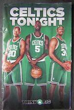 "Nov. 2007 Boston Celtics Tonight Program vs. Knicks with ""The New Big 3"" Cover"