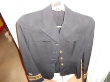 WW2 USN US Navy  WAAC Women's Officer WAC Uniform Jacket