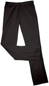 Chasse Cheer Cheerleading Warm Up Pants Black Cheerleader Double Knit School