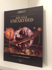 Aracana Unearthed: Players Handbook, Hardcover, Sword & Sorcery, RPG D20