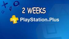 playstation plus 2 weeks Trial (14 days)  No Codes