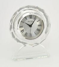 Orologi e sveglie da casa trasparenti alluminio