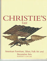 Christies - American Furniture, Folk Art, & Decorative Arts-June 14 2000
