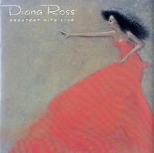 DIANA ROSS : GREATEST HITS LIVE / CD - TOP-ZUSTAND