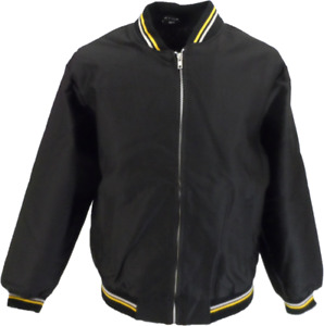 Black Classic Harrington Monkey Jacket
