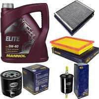 Inspektionspaket 5L MANNOL Elite 5W-40 + SCT Filter Kit 10757328
