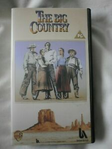 the big country vhs video