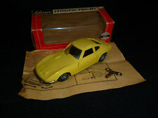 Schuco Opel GT Micro Racer 1048 m. orig. Karton Beschreibung und Schlüssel