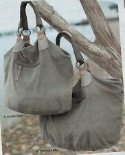 J.Jill   Corduroy   LARGE  Traveler  Bag     NWT   $99   Pearl Grey