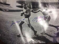 Muhammad Ali & Ken Norton 50x40cm Poster auf Fotopapier orig signiert Boxen UH