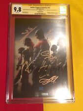 Justice League Of America #10 CGC 9.8 6x Sign By Gal Gadot,SDCC, Batman Superman