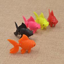 Artifical Swimming Fake Goldfish Fish Tank Aquarium Ornaments  Decor Random 5pcs