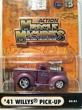 JADA MUSCLE MACHINES 1941 WILLYS PICK-UP 1/64 DIECAST NEW IN BLISTER PACK