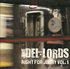 THE DEL-LORDS Right for Jerry Vol. 1 | CD Eric Ambel Scott Kempner