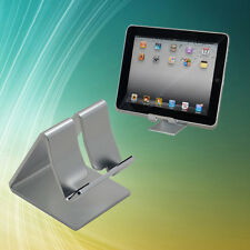 Universal Phone Tablet Aluminum Desktop Stand Mount Holder Bracket For iPad Air