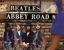 The Beatles Abbey Road Album Back Cover Photo Print 14 x 11""