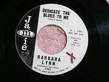 BARBARA LYNN~DEDICATE THE BLUES TO ME~VG++~PROMO~JAMIE~~ NORTHERN SOUL 45