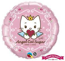 "Angel Cat Sugar CUTE KITTEN All Occasion Character Round Helium Fill 18"" 45cm"