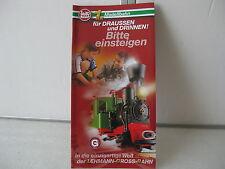 "LGB original Lehmann 00615 LGB ""Bitte einsteigen"" Mini Katalog NEU"
