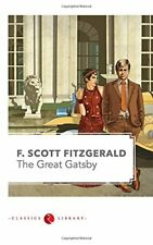 The Great Gatsby By F. Scott Fitzgerald (New Paperback Book)