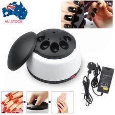 Steam Nail Gel Polish Remover Machine Gel Nail Steamer Cleaner Home Salon NEW