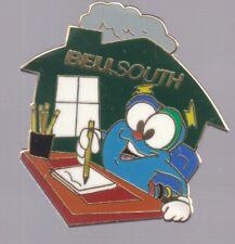 1996 Izzy Bellsouth Atlanta Olympic Pin Writing Press Media