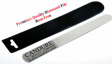 CANDURE PROFESSIONAL DIAMOND DEB FOOT CARE SKIN AND NAIL FILE STEEL 6'' Podiatry