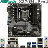 ASRock Z370M-Pro4 For Intel 8/9Th DDR4 LGA-1151 Z370 Micro-ATX PC Motherboard