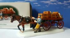 Dept 56 Dickens Village Gourmet Chocolates Delivery Wagon! New, Abbey Lane