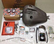 3.2 Gallon E-Z Bob Bobbed Gas Tank Kit Dash Speedometer 04-2006 Harley Sportster