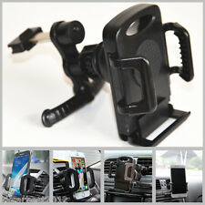 Black Retractable Car Air Vent Mobile Phone Holder Cradle Stand For iPhone 5 6