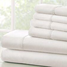 Soft Bedding Essentials 4 Piece Sheet Set + 2 FREE PILLOW CASES!