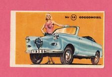 Goggomobil Vintage 1950s Car Collector Card from Sweden A