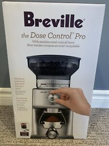 New Breville BCG600SIL The Dose Control Pro Coffee Grinder Brand New.