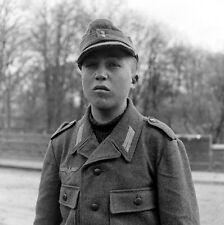 WW2 Photo WWII Young German Prisoner POW  Germany 1945  World War Two / 1433