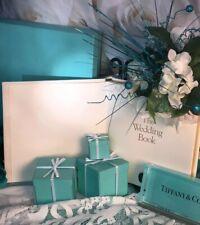Tiffany&Co Wedding Album Gift Book Registry Item Recorder Shower Gift