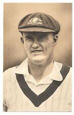 1935 Test Match Favourites William O'Reilly NSW Australia Postcard