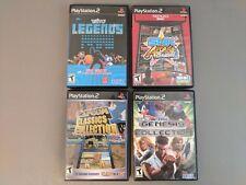LOT  SNK Arcade Classics Vol 1 Taito Capcom Collection Genesis PlayStation 2 PS2