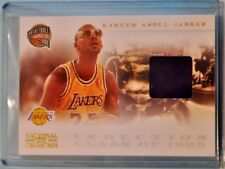 Kareem Abdul-Jabbar 2010-11 Panini National Treasures Hall of Fame Materials /99
